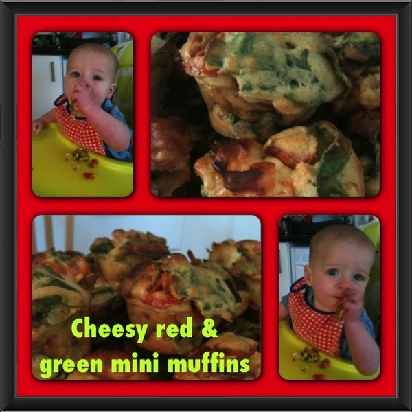 Mini muffins cheesy