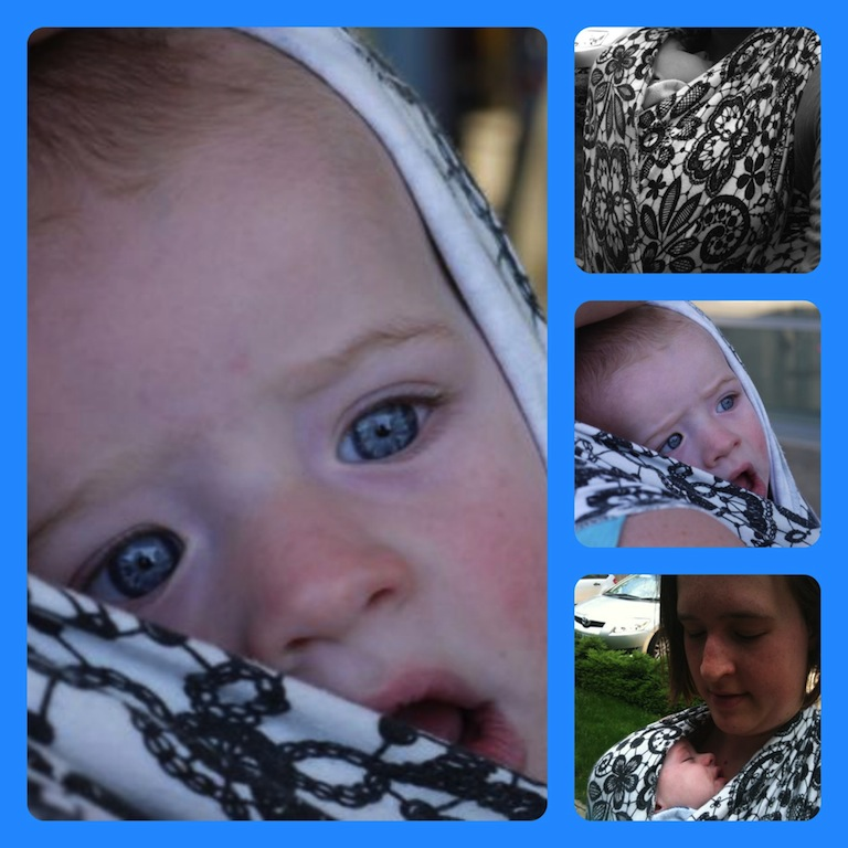 babywearing collage 1