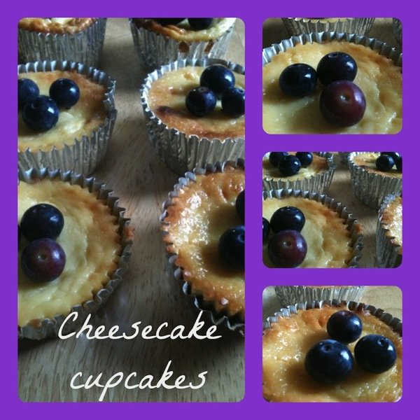 Mini cheesecakes 2